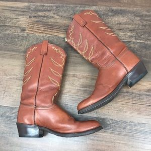 ACME Cowboy Boots Size 9C